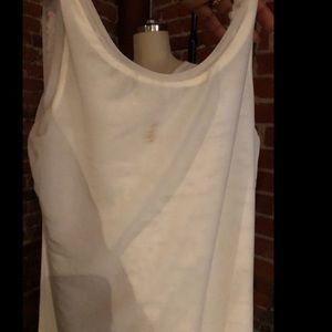 BCBG white sequin mini dress